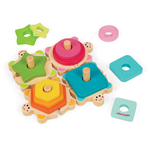 Turtles Stacking Puzzle