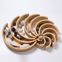 Grimm's Large Natural Tunnel 12 pieces