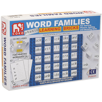 Word Families Set of 25
