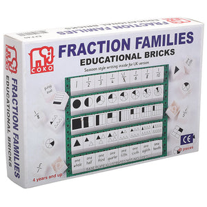 Fraction Families Set of 40