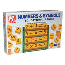 Numbers and Symbols Set of 36