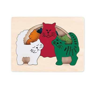 Cats Puzzle 6 Pieces