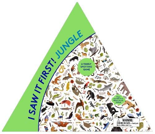 I Saw It First: Jungle: A Family Spotting Game