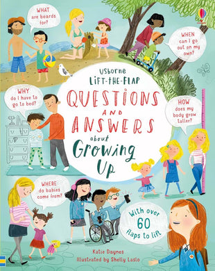 Lift the Flap Book Question and Answers About Growing Up