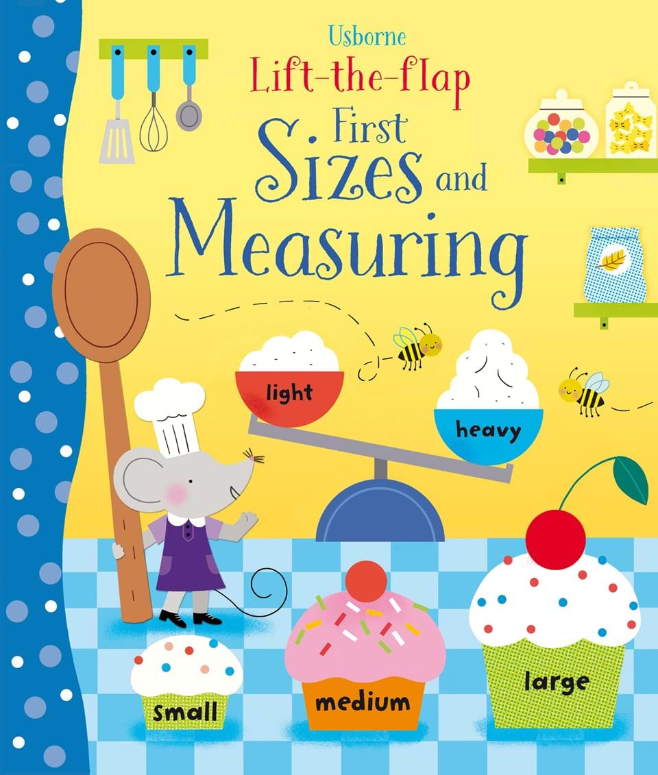 Lift the Flap Book First Sizes and Measuring