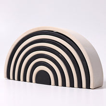 Large Monochrome Rainbow Tunnel 12 pieces