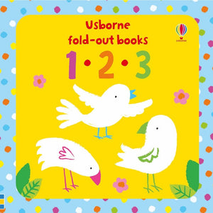 Usborne Fold Out Book 123