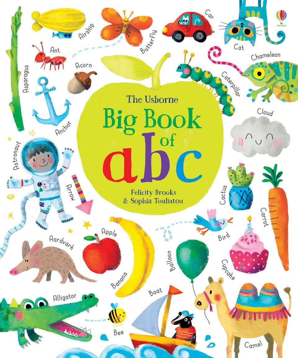 The Usborne Big book of ABC