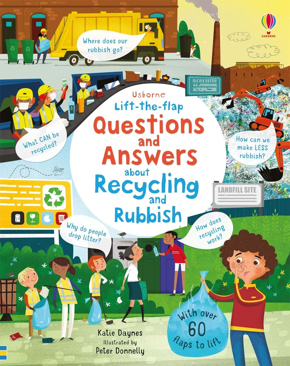 Lift the Flap Book Question and Answers About Recycling and Rubbish