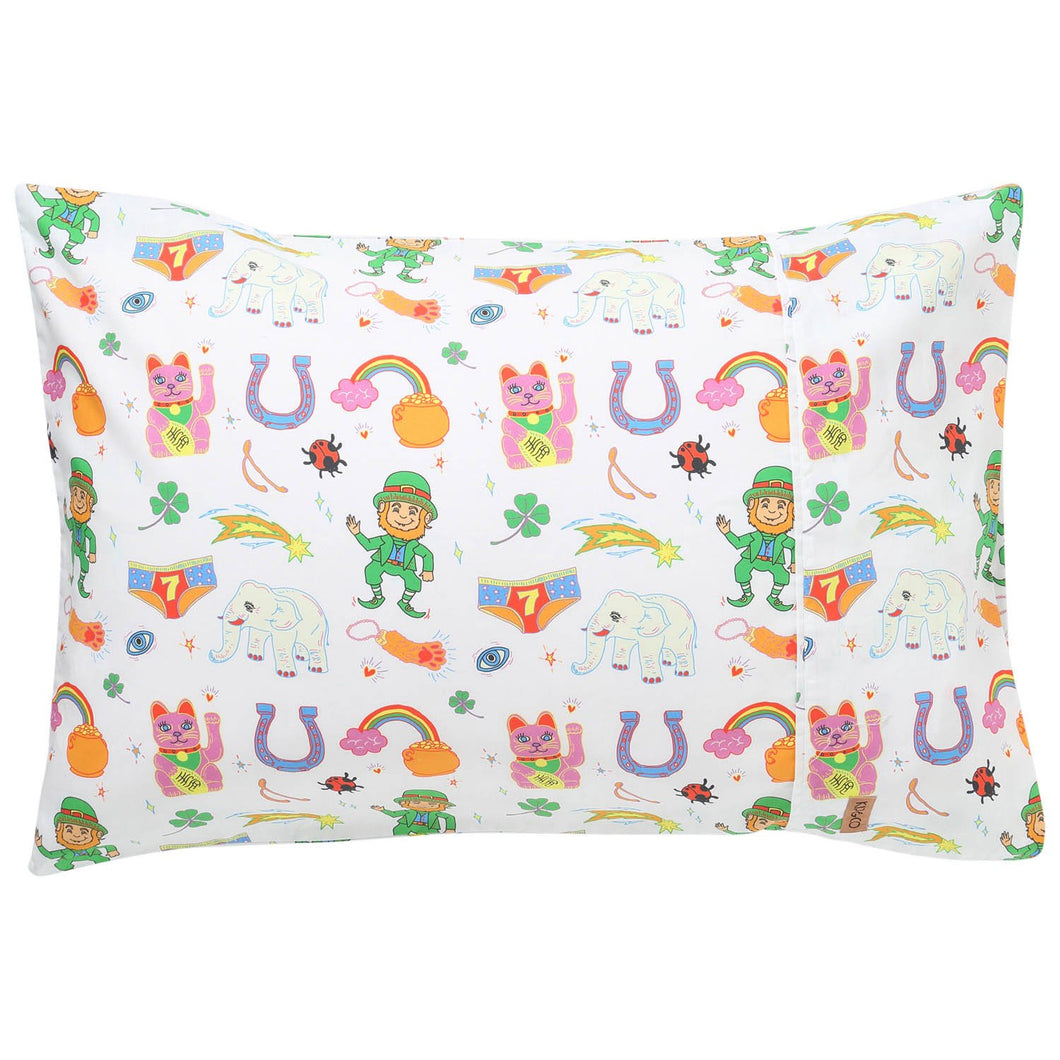Lucky Cotton Single Pillowcase