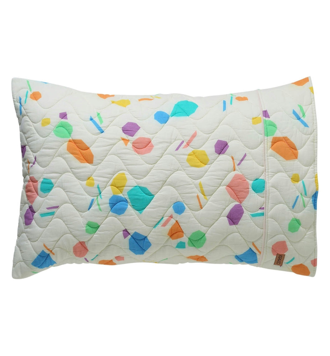 Shapes Quilted Pillowcase