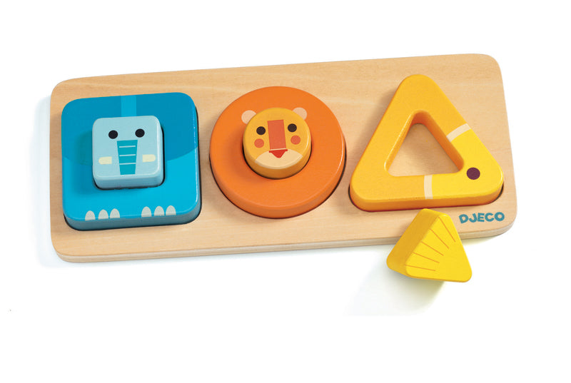 VoluBasic Wooden Puzzle