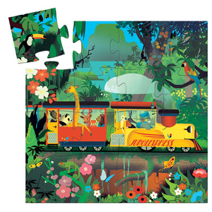 The Locomotive 16pc Silhouette Puzzle