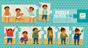 I am Dressing Up Progressive Puzzle