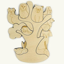 Forest Friends Magnetic Woodland Puzzle