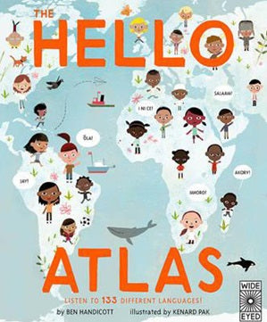 Hello Atlas: Listen to 133 Different Languages