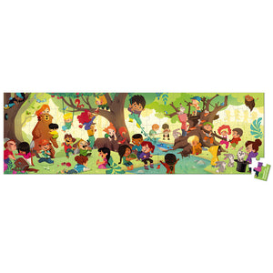A Day in the Forest Suitcase Puzzle 100pc