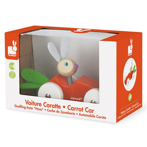 Rabbit Carrot Car