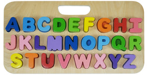 Carry Around ABC alphabet (Upper Case) Puzzle