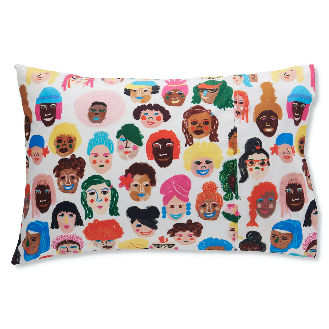 Sisters Cotton Pillowcase