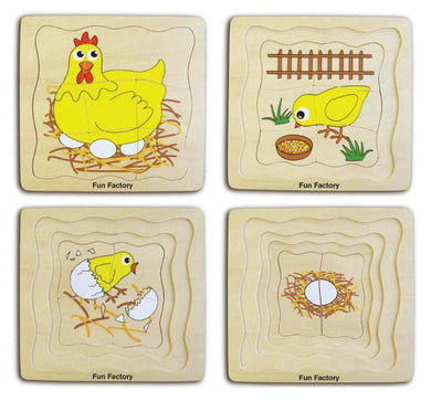 4 Layer Chicken Puzzle