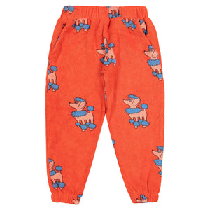 Red Poodle 80s Terry Sweat Pants