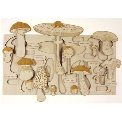 Spring Up Like Mushrooms Puzzle