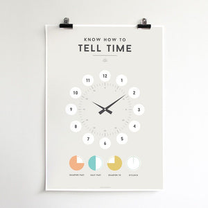 Tell The Time Chart