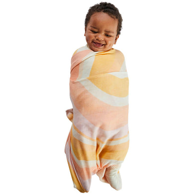 Ripple Bamboo Baby Swaddle