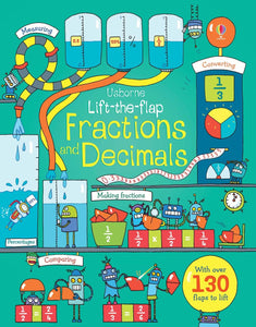Lift-the-flap questions and answers Fractions and Decimals
