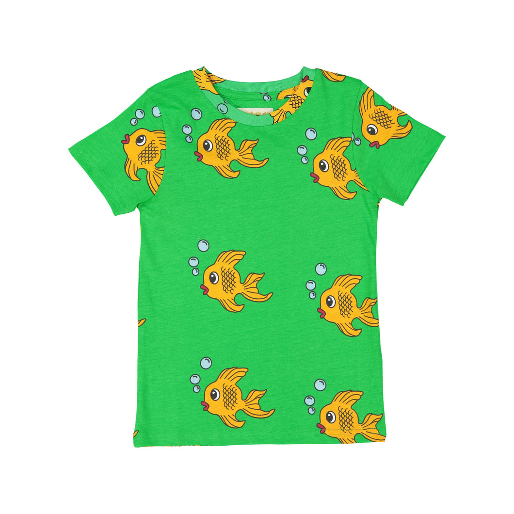 Green Fish T Shirt