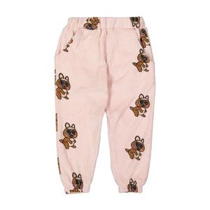 Brown Canguro Terry 80's Sweat Pants