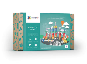 *Preorder April* Connectix Tiles 92 Piece Set Ball Run