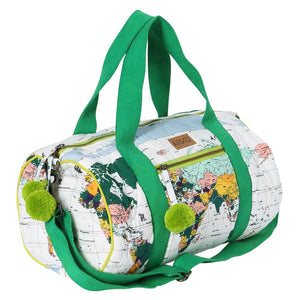 Flight Path Quilted Duffle Travel Bag