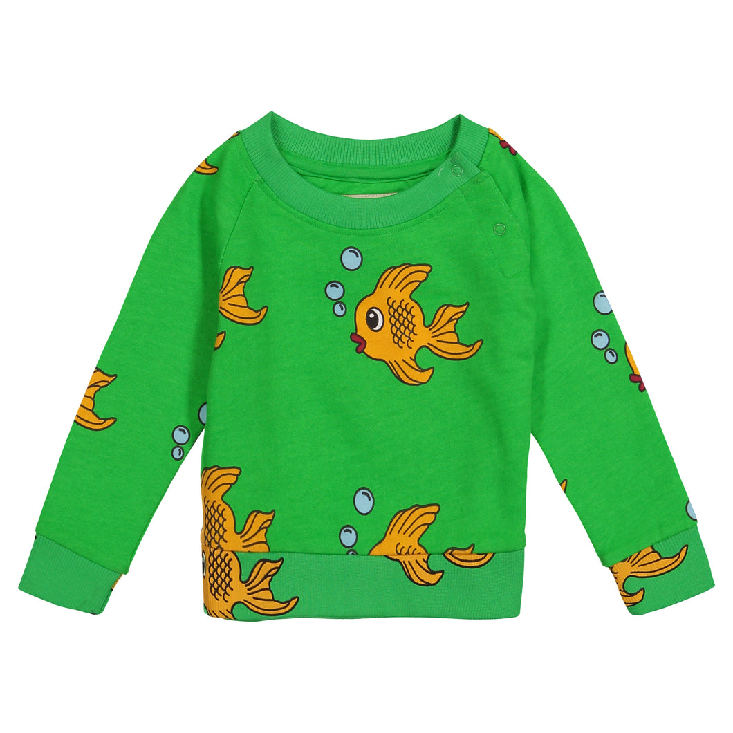 Green Fish Sweatshirt