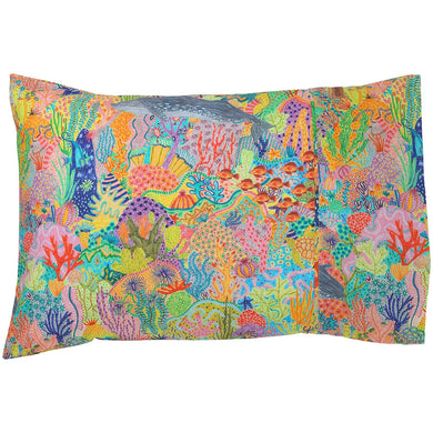 Snorkle Cotton Single Pillowcase