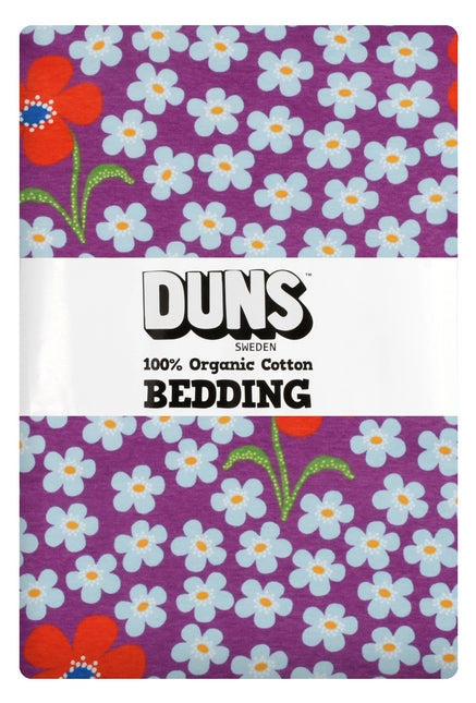 DUNS Sweden - Organic Bedding Set - Flower Orchid