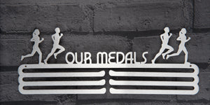 OUR MEDAL HANGER DISPLAY