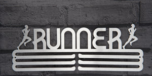RUNNER MALE MEDAL DISPLAY HANGER