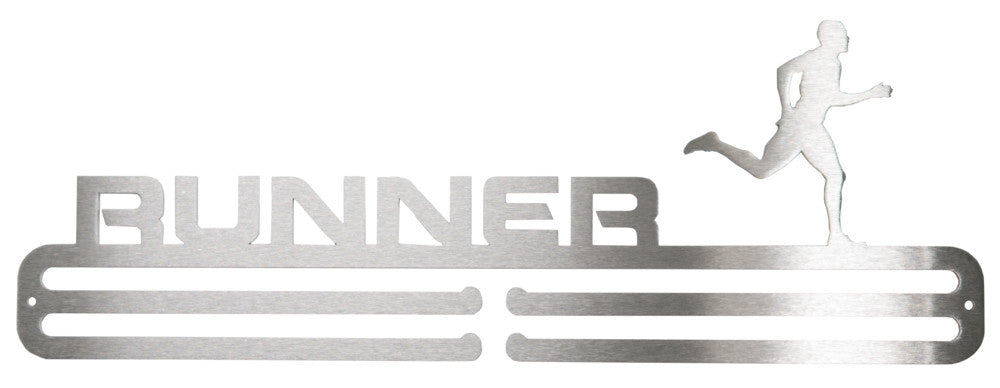 Runner Male Medal Hanger
