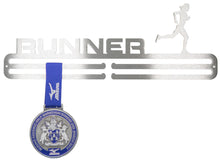 Runner Female Medal Hanger