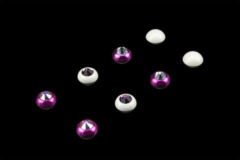 2x Swarovski Interchangable Crystal Caps for your BassBuds I.C.E (4 Pairs)