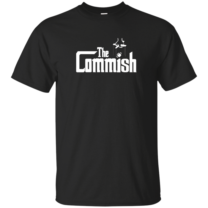 The Commish T-Shirt Fantasy Football Commissioner Tee