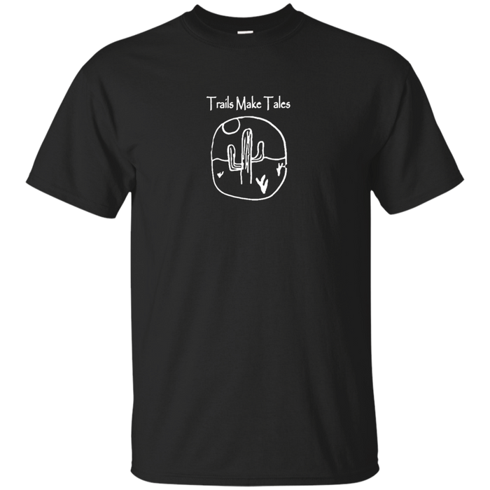 Trails Make Tales Hiking T-Shirt Desert Cactus