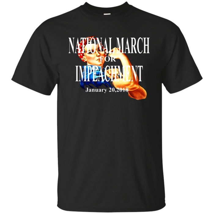 National March Impeachment Anti Trump Resist Rosie T shirt