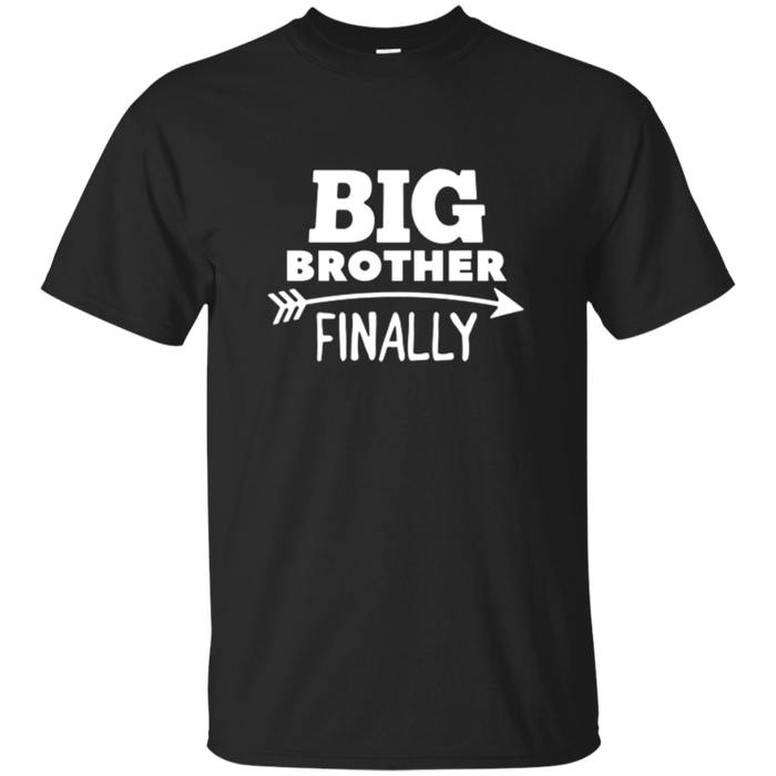 Promoted To Big Brother T Shirt Sibling Boys Tee Gift