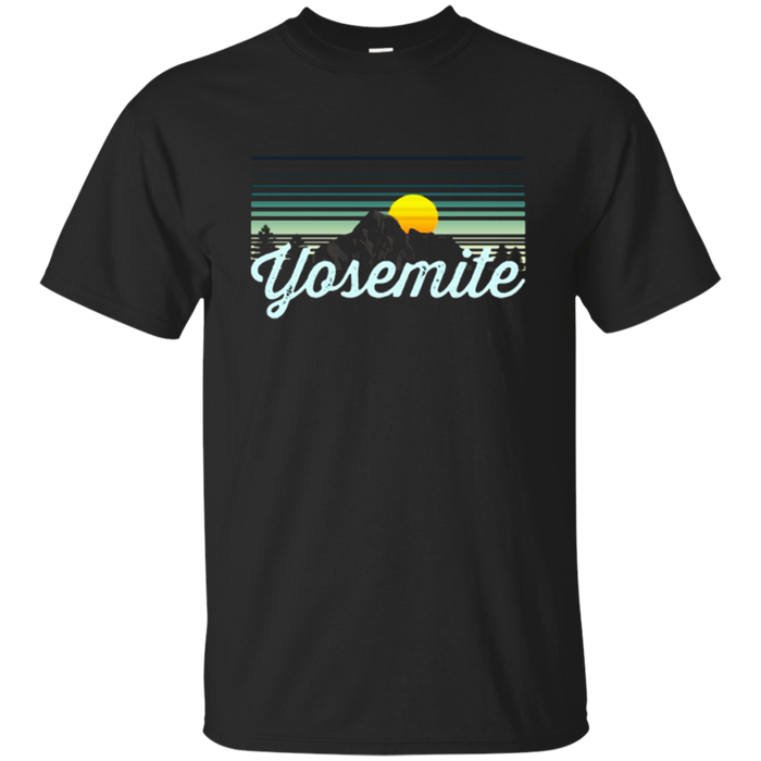 Yosemite T Shirt National Park hiking & camping tee