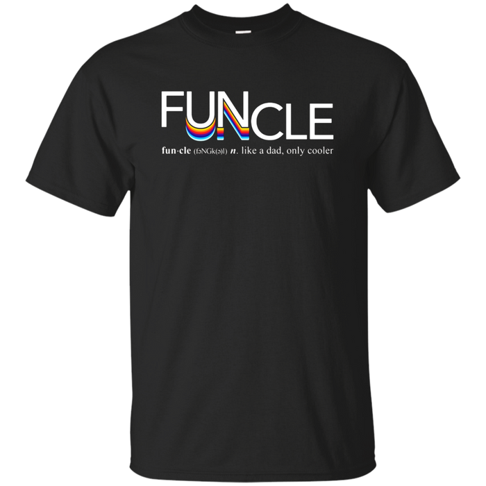 Mens Fun Uncle Funcle Definition T-Shirt