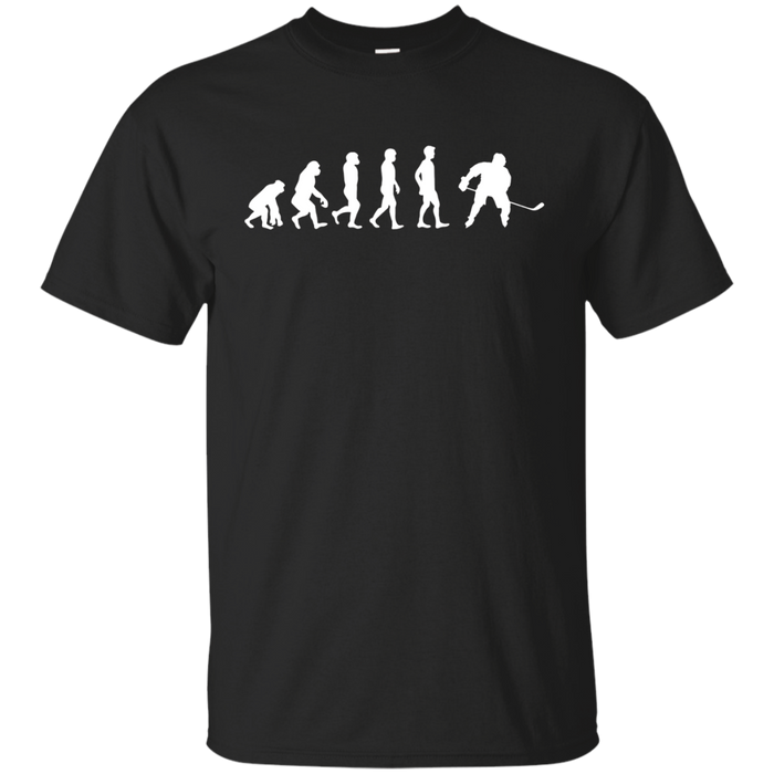Evolution Ice Hockey Funny T-shirt Hockey Player Gift