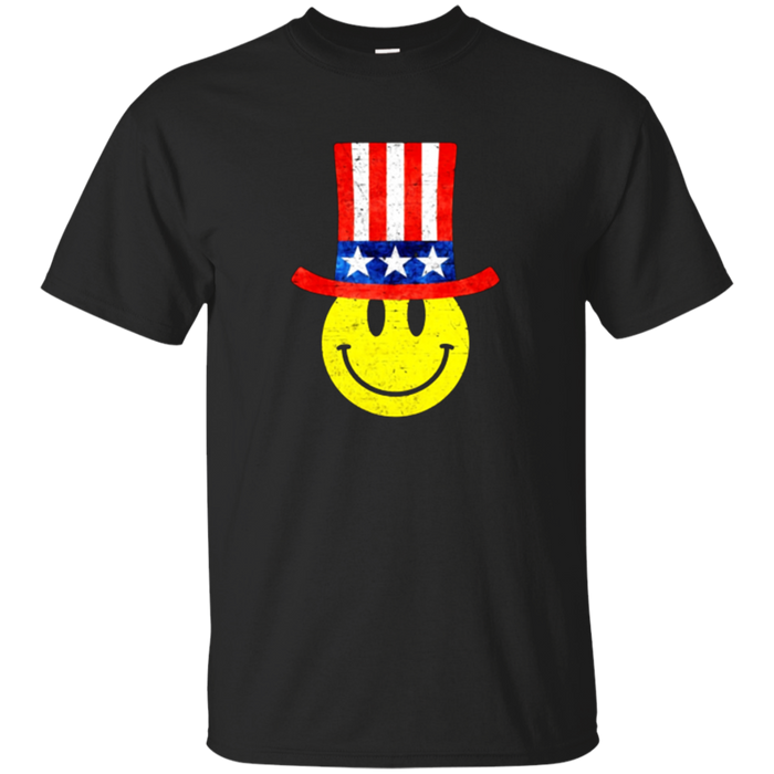 Uncle Sam Funny Emoji T-Shirt Fourth 4th of July T shirts